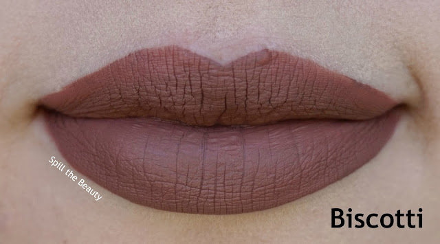 stila stay all day liquid lipstick review swatches biscotti rubino notte