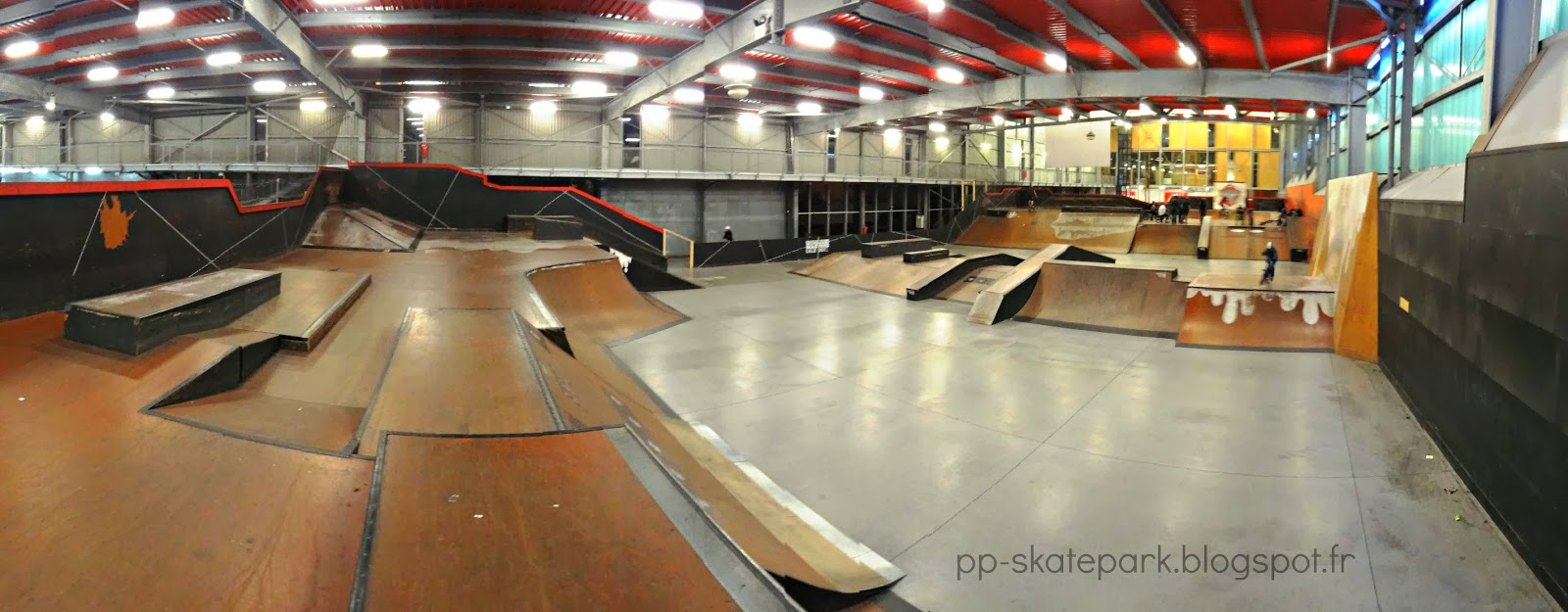 Halle de glisse lille skatepark