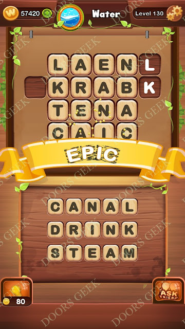 Word Bright Level 130 Answers, Cheats, Solutions, Walkthrough for android, iphone, ipad and ipod