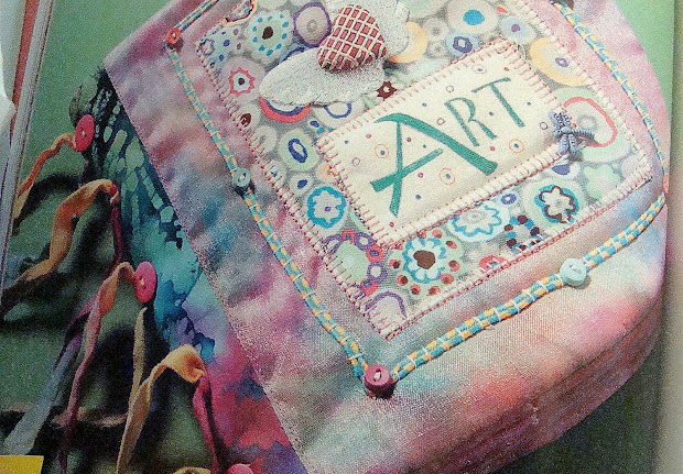 Fibre Fascination Pam Sussman' Fabric Art Journal Book
