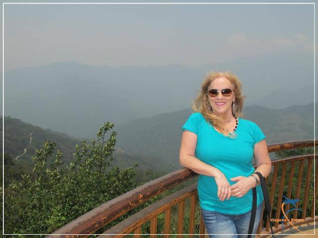 Tashi - Mirante em Gangtok - Índia