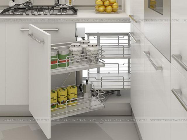 bố trí phòng bếp 10m2