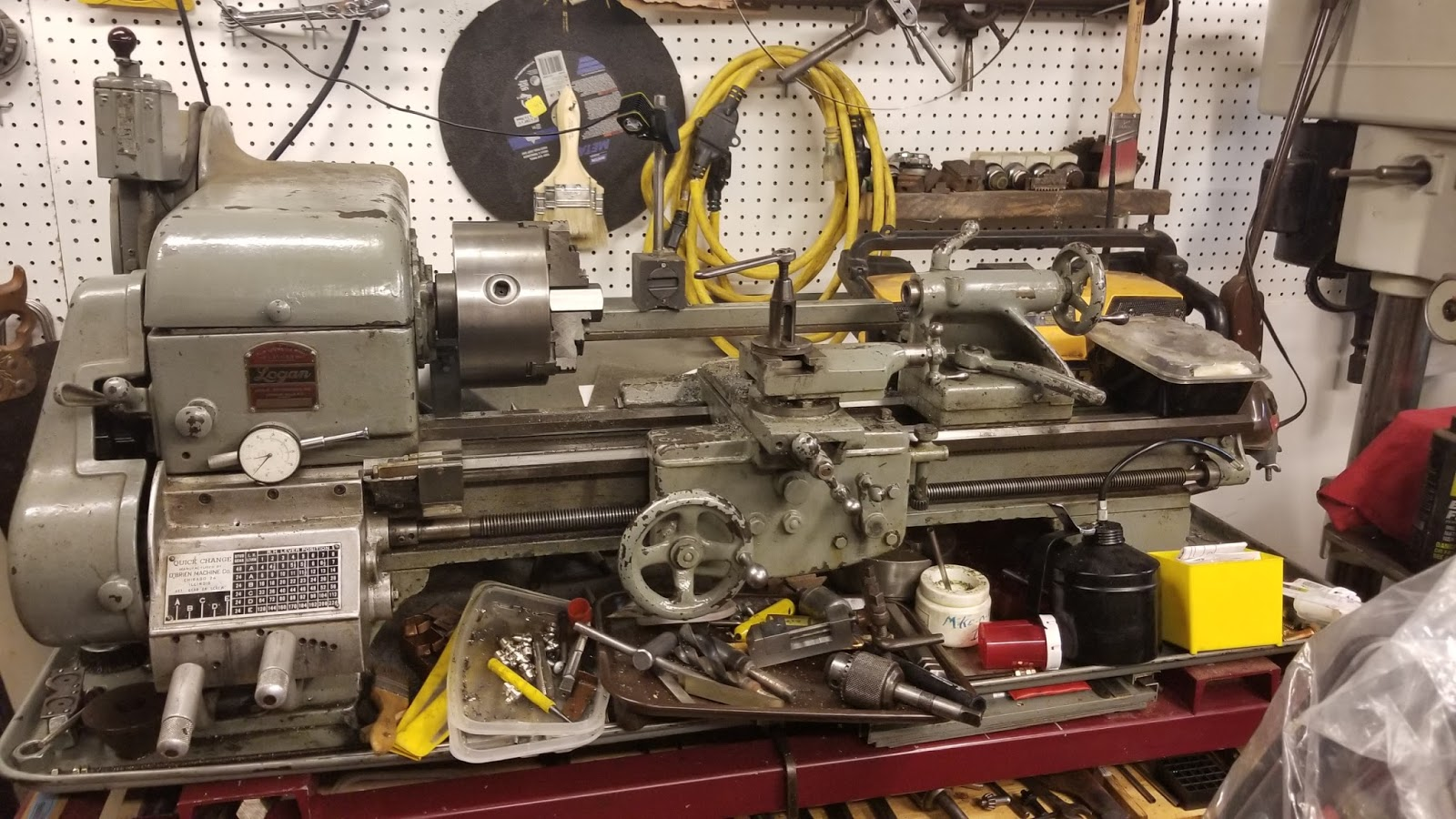 Budget Machining Logan Lathe Wiring Diagram Still Makes Parts Or Has You Can Find Them Here Http Loganactcom