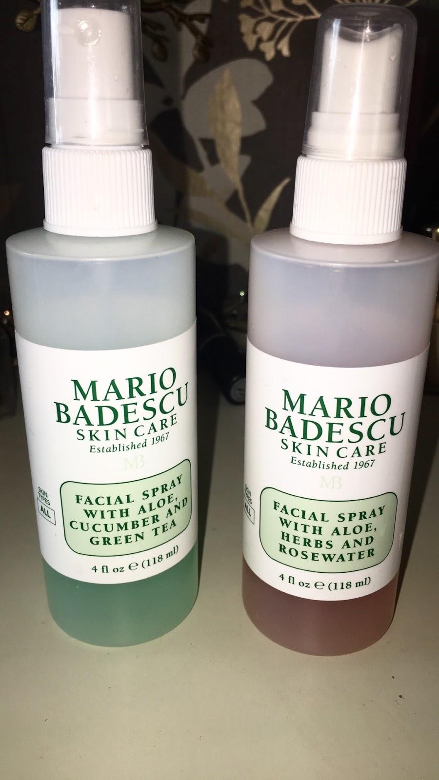 Review Mario Badescu Facial Sprays Rhia Kaur