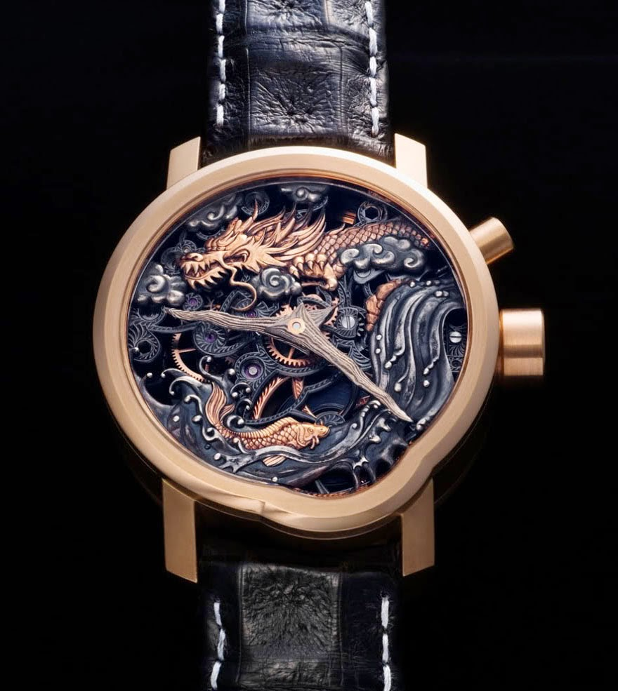 24 Of The Most Creative Watches Ever - Dragon Gate Legend Watch