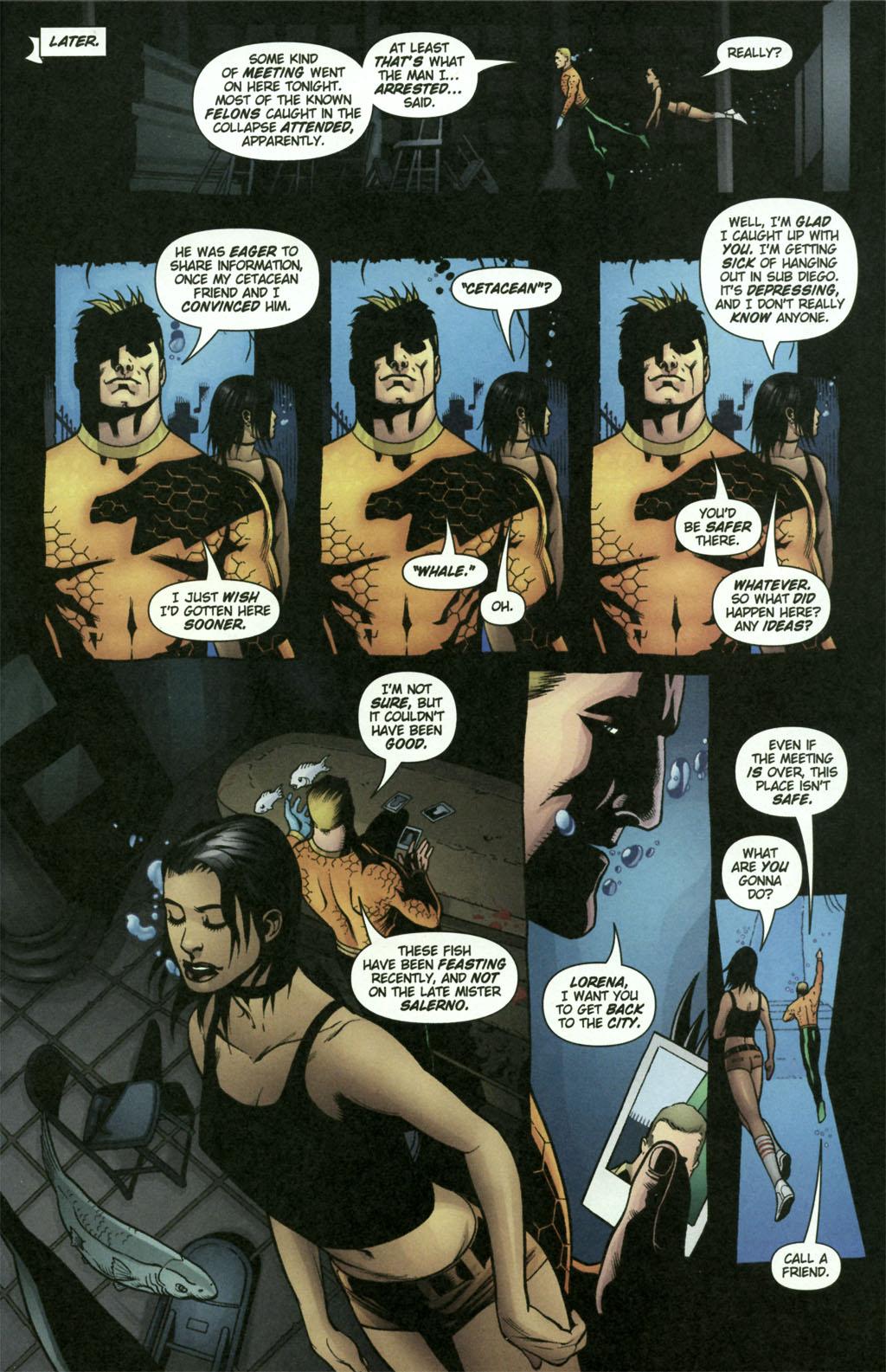 Read online Aquaman (2003) comic -  Issue #21 - 21