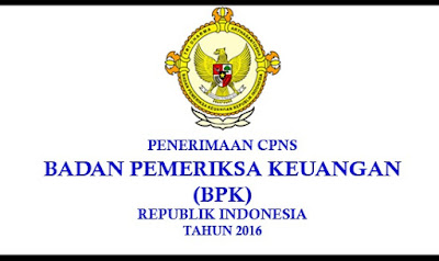 Penerimaan CPNS BPK 2016