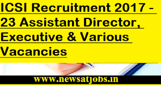 ICSI-jobs-23-Assistant-Director-Executive-vacancies