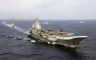 Konvoi Kapal Induk Liaoning China
