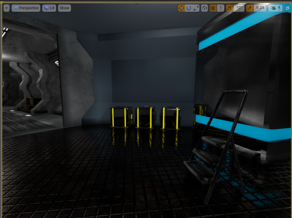 I Don't Know UDK: Unreal Engine 4, Blender and Substance