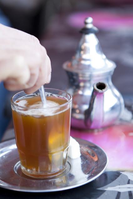 Té alla menta-Marrakech