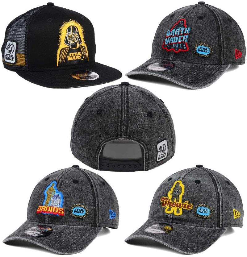 1accbdc1c78bcf The Blot Says...  Star Wars 40th Anniversary Hat Collection by New ...