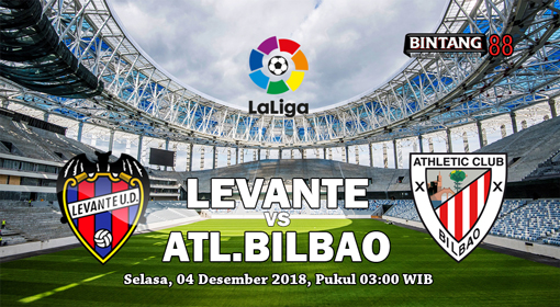 Prediksi Bola Levante vs Athletic Bilbao 4 Desember 2018