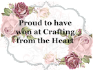Winner Crafting from the heart challenge nº154