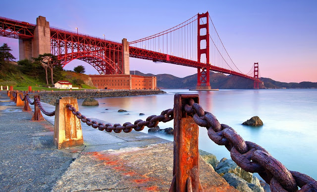 Ponte Golden Gate em San Francisco