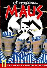 Cover of Maus II - And Here My Troubles Began Graphic Novel