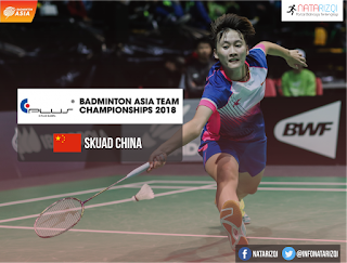 tim china Badminton Asia Team Championship 2018