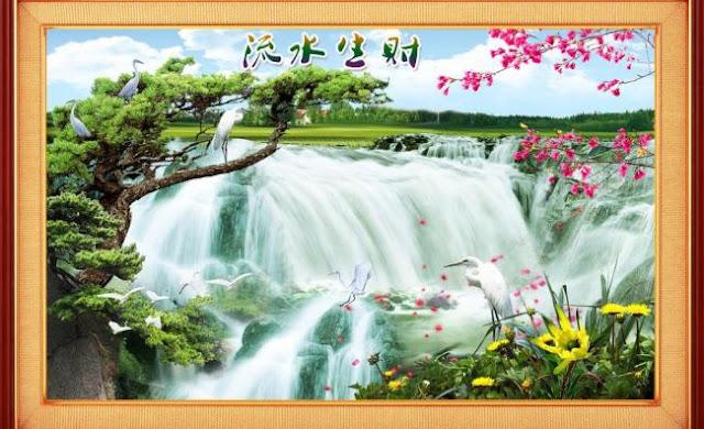 Tranh Dán Tường 3D Biên Hòa
