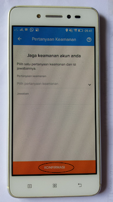 PIN keamanan aplikasi Kredivo