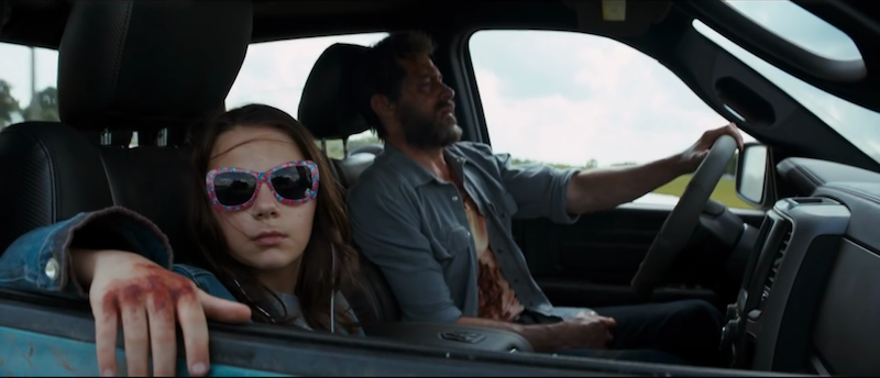 Logan (2017): Director: James Mangold Stars: Hugh Jackman, Patrick Stewart, Dafne Keen  Wolverine created by Roy Thomas, Len Wein, John Romita, Herb Trimpe. Laura Kinney/X-23 created by Craig Kyle and Christopher Yost.