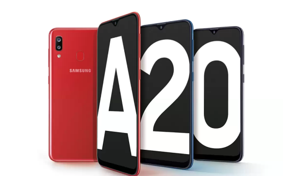 Samsung Galaxy A20 - Infinity-V-Display Only 12490 On Flipkart