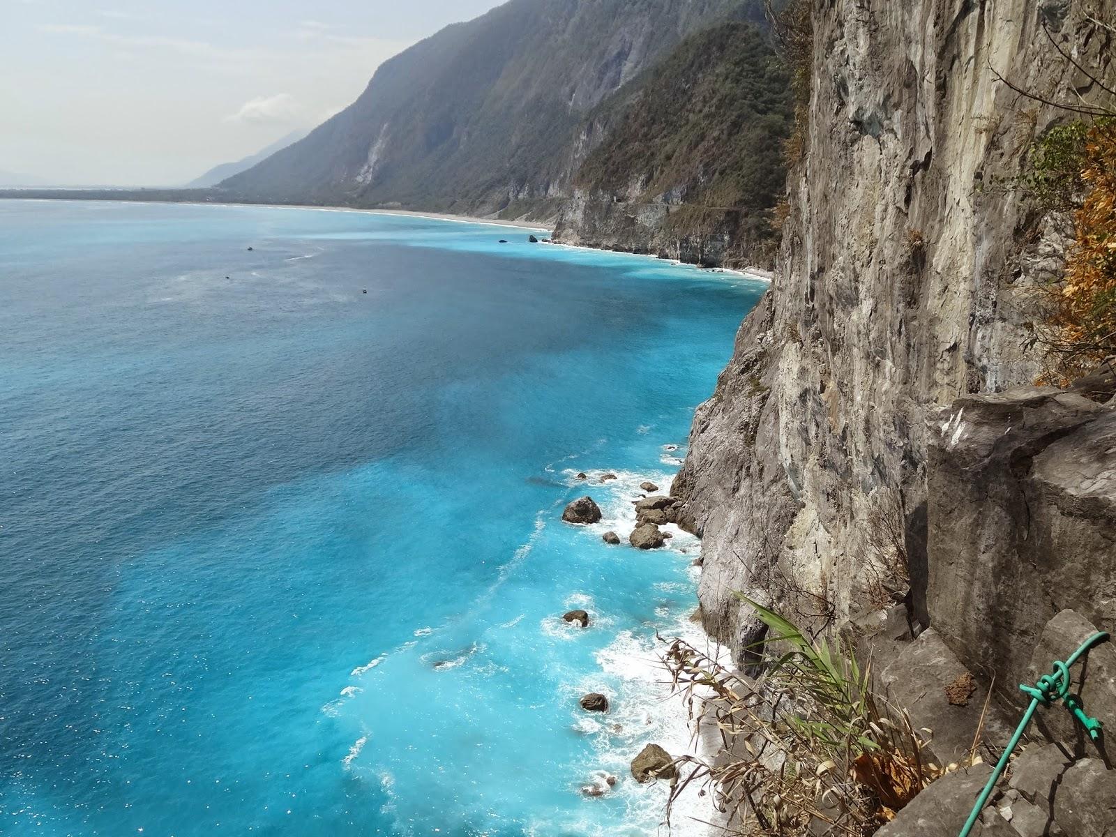 卓光華部落格: 探訪花蓮清水斷崖壯麗景觀-大自然鬼斧神工的力量