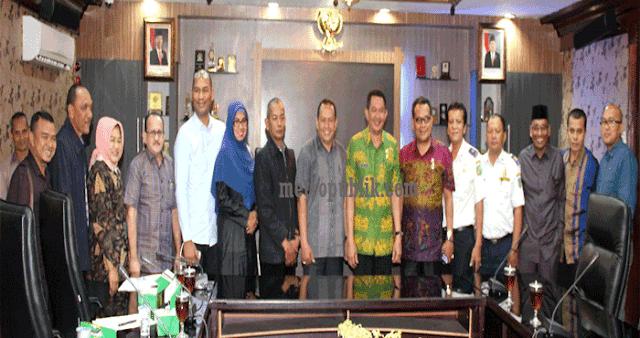Walikota Medan Terima Kunjungan Kerja DPRK LHOKSEUMAWE