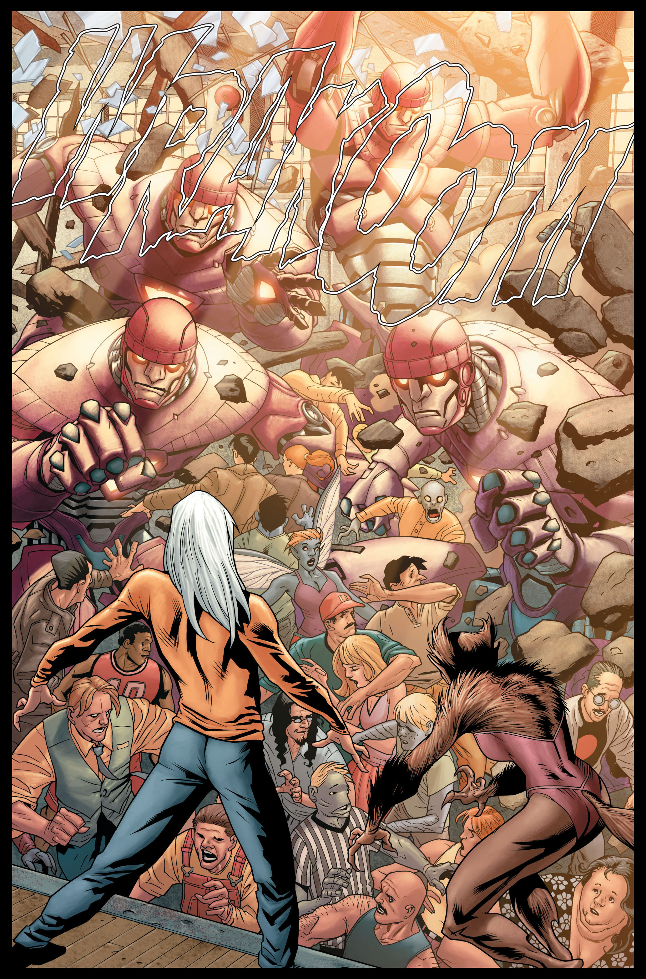Read online Ultimate X-Men comic -  Issue #84 - 7