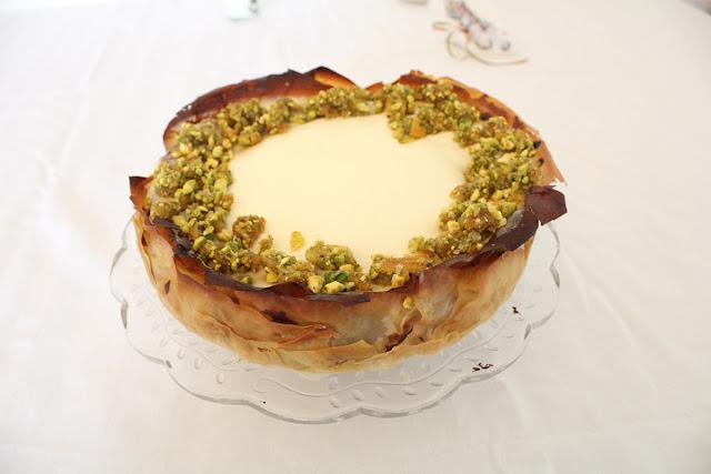 IMG 3333 - עוגת גבינה בעלי פילו