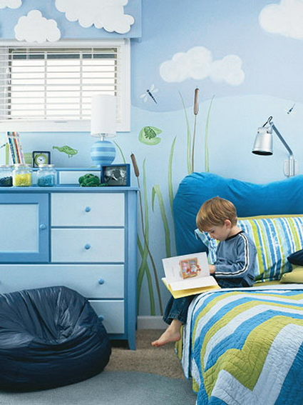 Ideas for decorating boys rooms 8