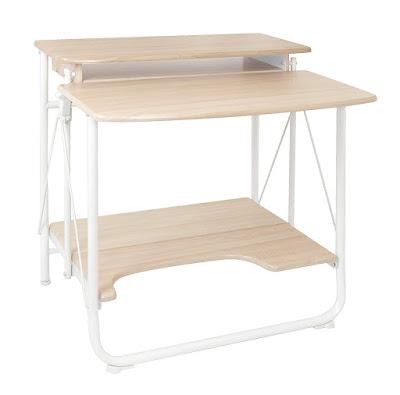 طاولة كمبيوتر مكتبي، منضدة حاسوب مكتبي، مكتب للكمبيوتر، طاولة قابلة للطي