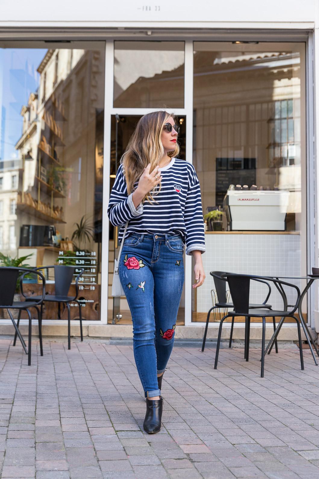 Blog mode jean broderie