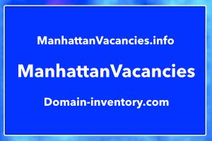 ManhattanVacancies.info