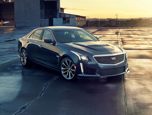 Cadillac CTS V The thrilling V8 tire shredder  | Best New Autocars Review