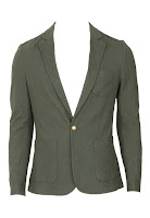 Sacou ZARA Simple Green (ZARA)