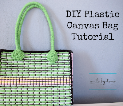 plastic canvas bag