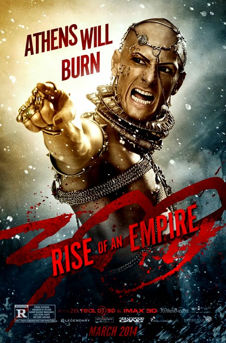 Poster 300: RISE OF AN EMPIRE - Xerxes