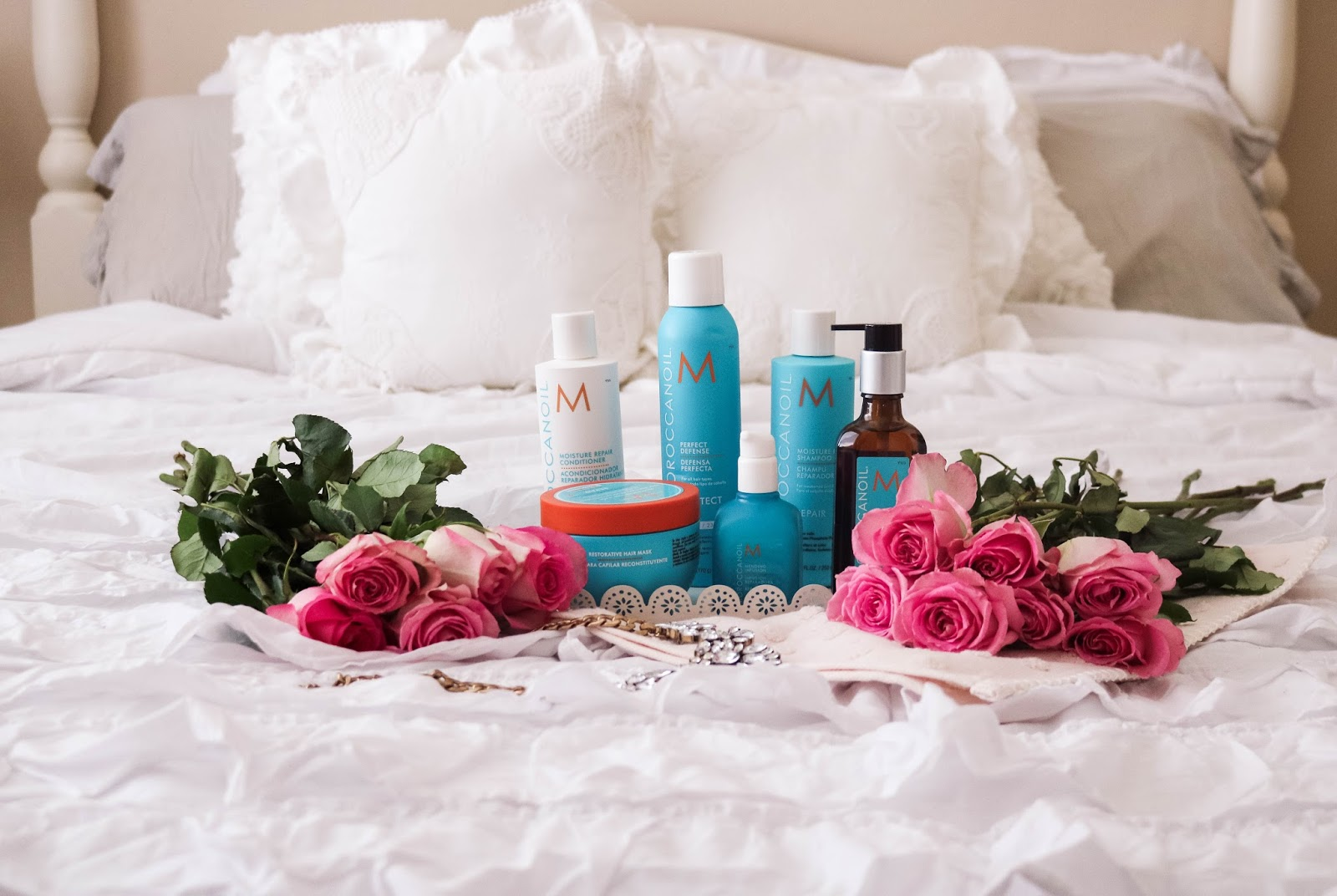 Favorite Moroccanoil hair products