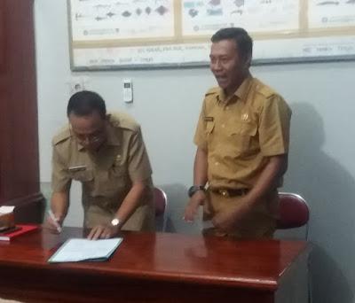 UNTUNG TAMSIL Ditunjuk Menduduki Jabatan Pelaksana Tugas Kepala Dinas Perikanan dan Kelautan Kabupaten Fakfak