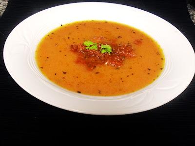 Sopa de tomates asados conhierbas de Gordon Ramsay