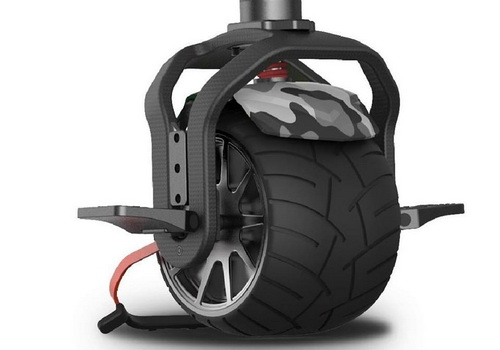 Tinuku Kiwano K01 single-wheeled electric scooter drives all-terrain urban