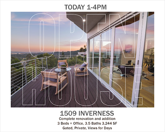 1509 INVERNESS PASADENA LINDA VISTA JETLINER VIEWS OPEN 1-4 TODAY