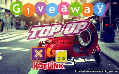 GIVEAWAY TOP UP BY Blogbabyshambles