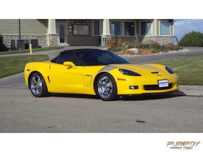 2011 Corvette Convertible at Purifoy Chevrolet