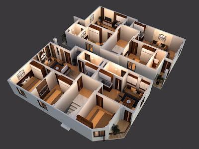 phối cảnh tầng 2-6 chung cư minh đại lộc 3