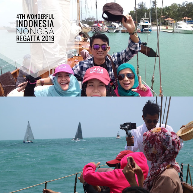 4th Wonderful Indonesia Nongsa Regatta 2019 Sukses dan Banjir Pujian