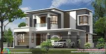 1718 Square Feet Flat Roof Modern House - Kerala Home