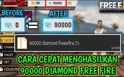script 90000 diamond free fire 7z zip