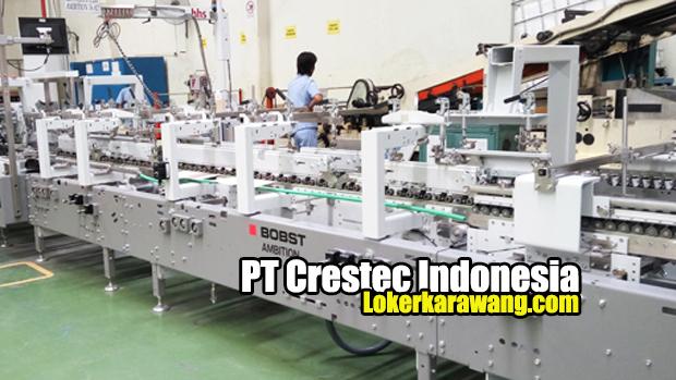 Lowongan Kerja PT Crestec Indonesia MM2100 Cikarang