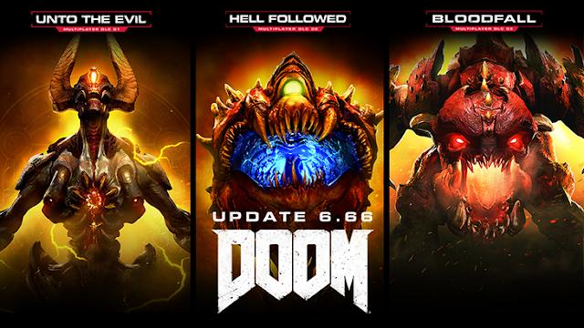 DOOM se hace todavía más completo con la actualización 6.66, todos los DLCs gratuitos